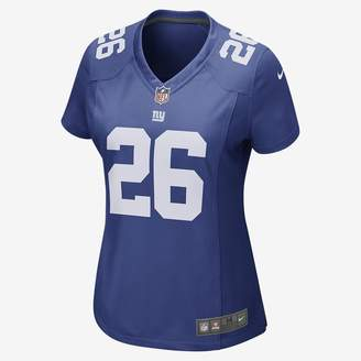 Nike NFL New York Giants (Eli Manning) Women's Football Home Game Jersey