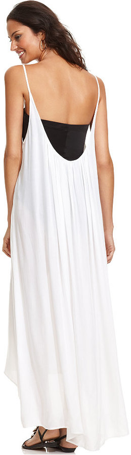 Raviya Sleeveless High-Low Cover Up 3