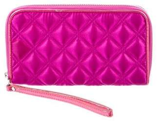 Marc Jacobs Satin Quilted Wallet