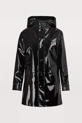 Celine Patent leather duffle coat