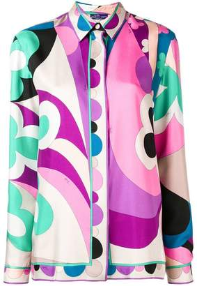 Emilio Pucci abstract print shirt