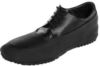 WinterTrax Mens Waterproof Overshoes Slip-Resistant Black Silicone Rain Safety Galoshes