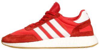 adidas Iniki Mesh & Suede Running Sneakers