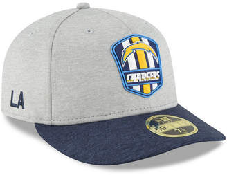 New Era Los Angeles Chargers On Field Low Profile Sideline Road 59FIFTY Fitted Cap