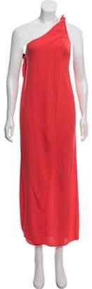 Mara Hoffman Sleeveless Midi Dress Orange Sleeveless Midi Dress