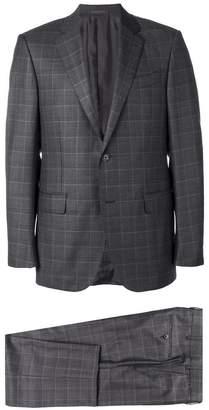Ermenegildo Zegna two-piece checked suit