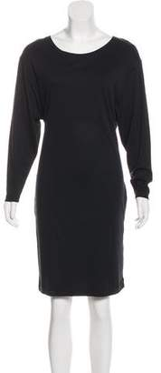 Closed Long Sleeve Knee-Length Dress w/ Tags