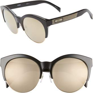 Moschino 56mm Special Fit Sunglasses