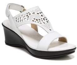 Naturalizer Veda Leather Slingback Sandals