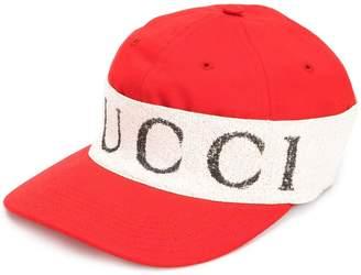 Gucci cap with logo headband