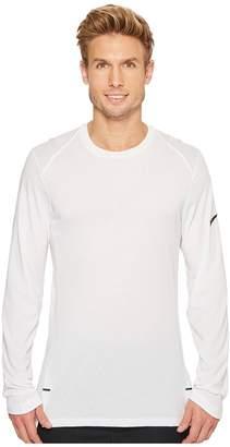 Nike Elite Long Sleeve Basketball Top Men's Clothing