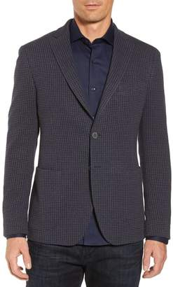 Bugatchi Houndstooth Cotton Knit Blazer