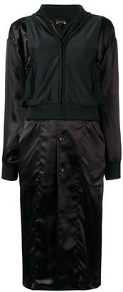 Comme des Garcons layered trench coat