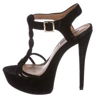 Rachel Zoe Suede Platform Sandals