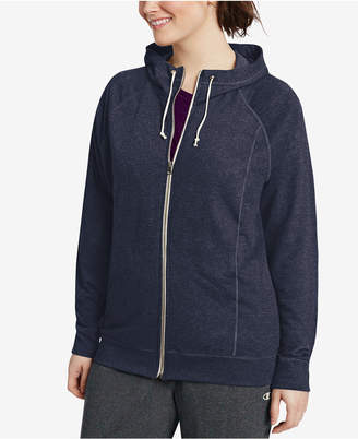 af294a7b5c9 ... Champion Women s Plus French Terry Full Zip Hoodie