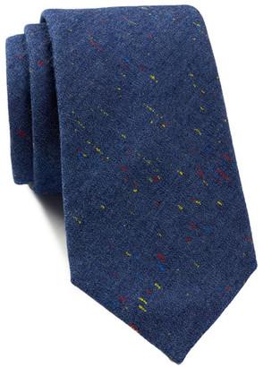 Tommy Hilfiger David Denim Melanged Slim Tie $65 thestylecure.com