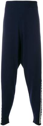 Stella McCartney drop-crotch track pants