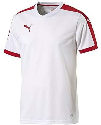 Puma Children's Short-Sleeve Shirt Dip - White