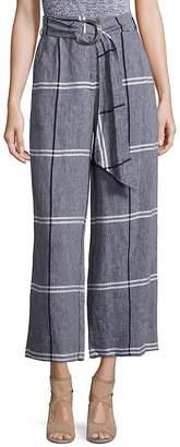 Suno Women's Rind Tie Cropped Pants