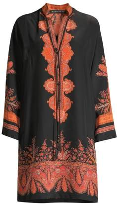 Etro Paisley Silk Tunic Dress