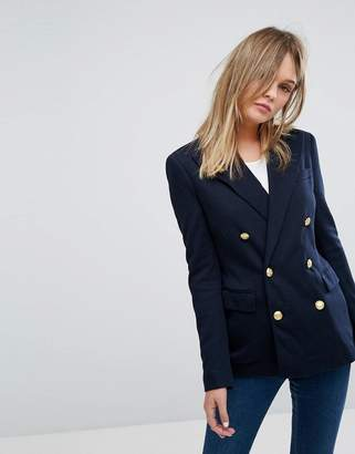 Polo Ralph Lauren Double Breasted Blazer With Gold Buttons