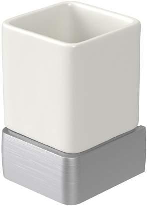 Aqualux Haceka Aline Ceramic Tumbler – Brushed