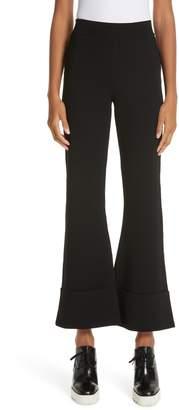 Stella McCartney Flare Leg Pull-On Ankle Pants