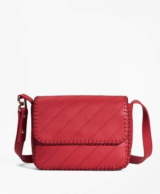 Brooks Brothers Leather Dione Cross-body Bag