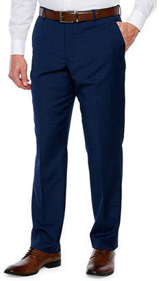 STAFFORD Stafford Plaid Slim Fit Stretch Suit Pants