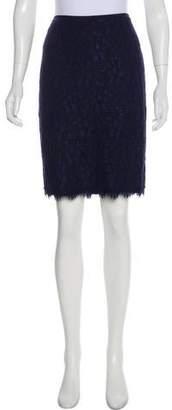 Diane von Furstenberg Lace Two-Way Zip Skirt
