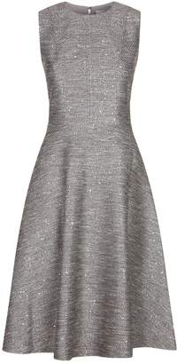 Lela Rose Tweed Sequin Dress