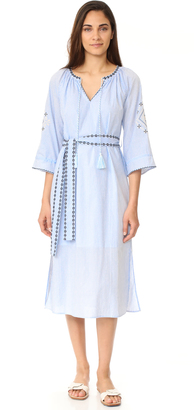 Moon River Embroidered Dress $105 thestylecure.com