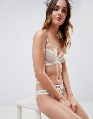 Asos DESIGN Bridal Embroidered Underwire Bra