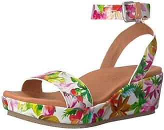 bce86017634 Gentle Souls by Kenneth Cole Women s Morrie Platform Wedge Sandal with Ankle  Strap Sandal