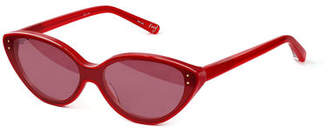 Elizabeth and James Frey Cat-Eye Acetate Sunglasses