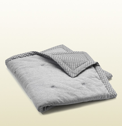 Gucci baby GG pattern baby blanket