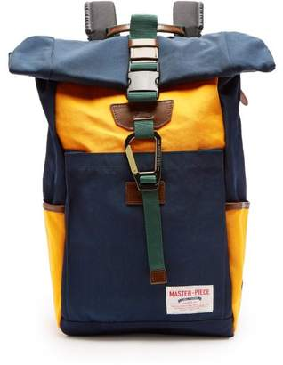MASTERPIECE Master Piece - Link Hiking Backpack - Mens - Navy Multi