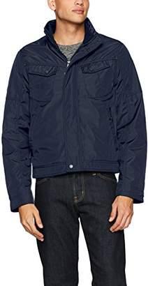 William Rast Men's Micro Tech Bomber Jacket