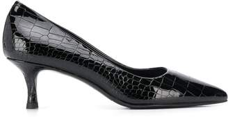 Albano croco embossed pumps