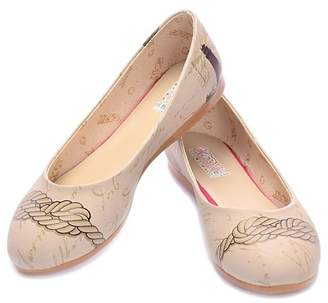 Goby Rope Printed Ballet Flat