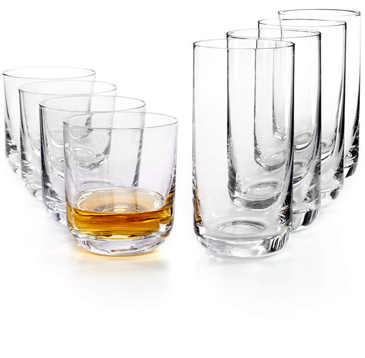 The Cellar Premium Glassware, Double Old Fashioned & Highball Glasses, Set of 8, Created for Macy's