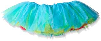 Seven Til Midnight SEVEN 'TIL MIDNIGHT Women's Rainbow Tulle Tutu Skirt, Multi-ColoRed