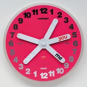 Artecnica KnoWhere Clock, You & Me
