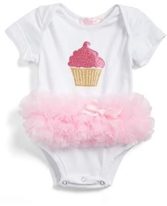 Popatu Cupcake Tutu Skirted Bodysuit
