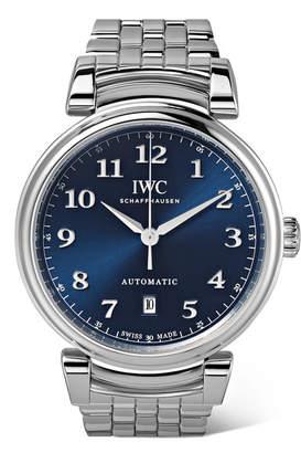 IWC SCHAFFHAUSEN - Da Vinci Automatic 40mm Stainless Steel Watch - Silver