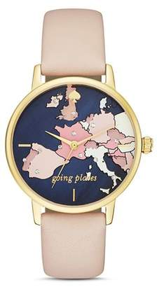 Kate Spade Metro Going Places Watch, 34mm