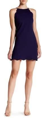 Love...Ady Scallop Trim Shift Dress $108 thestylecure.com