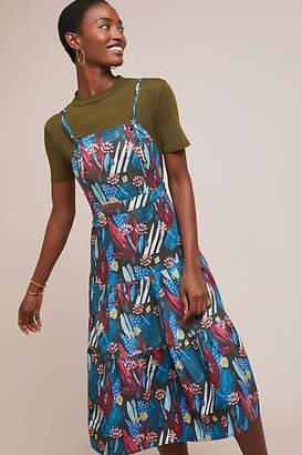 Eva Franco Tiered Mosaic Dress