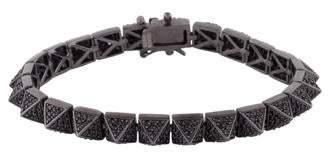 Eddie Borgo Pavé Crystal Pyramid Bracelet