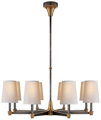 Visual Comfort & Co. Caron Chandelier - Bronze/Antiqued Brass
